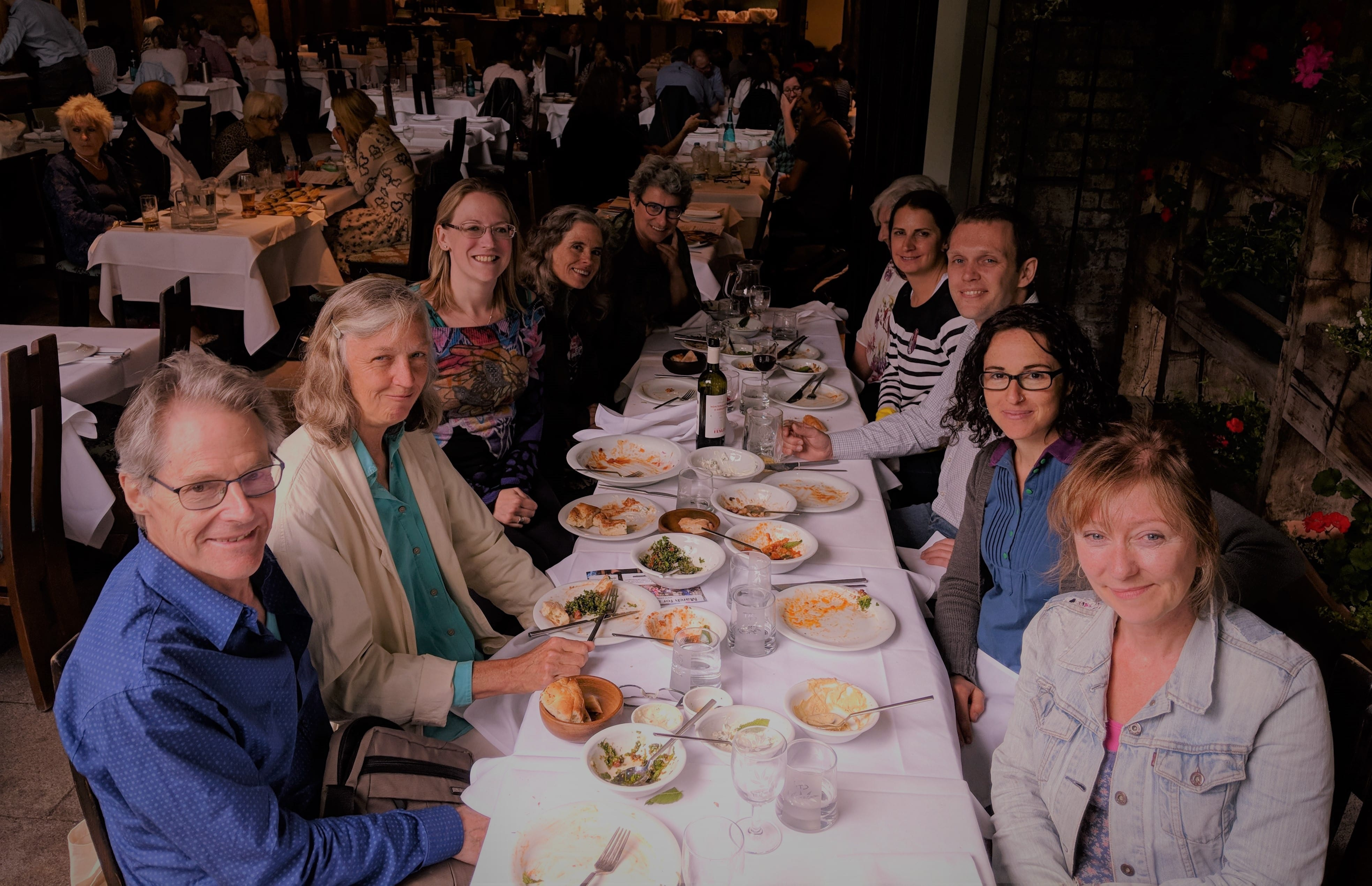 Spanish Network lunch on Sunday 18th June 2018 in London.